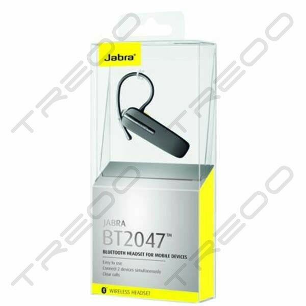 7f8ddc675bd Details about HEADSET BLUETOOTH JABRA BT2047 MULTIPOINT BLACK UNIVERSAL  HEADSET