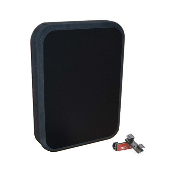 Stern Pad Jumbo Black- 3D Scan Transducer Mounting Kit (No Screwing into Boat)