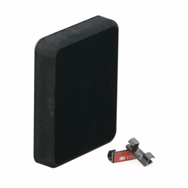 Stern Pad Standard Black - Transducer Mounting Kit (No Screwing into Boat)