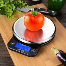 Digital Stainless LED Scale for Food Kitchen Diet Postal mailing Weight 13lb/6kg