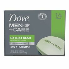 Dove Men+Care Soap Bars, Extra Fresh (4 oz., 14 ct.)*BEST PRICE AND SERVICE****