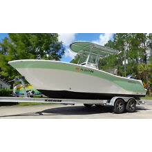 2016 SEA FOX 226 CENTER CONSOLE OFFSHORE SALTWATER FISHING BOAT CC 216 PRO HUNT