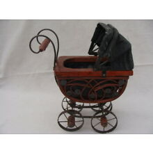Vintage Doll Baby Carriage Buggy Cart Victorian Style