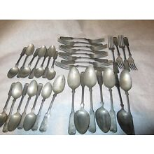 Coin Steel WBW Flatware USA Made Antique Silver Flatware Lot