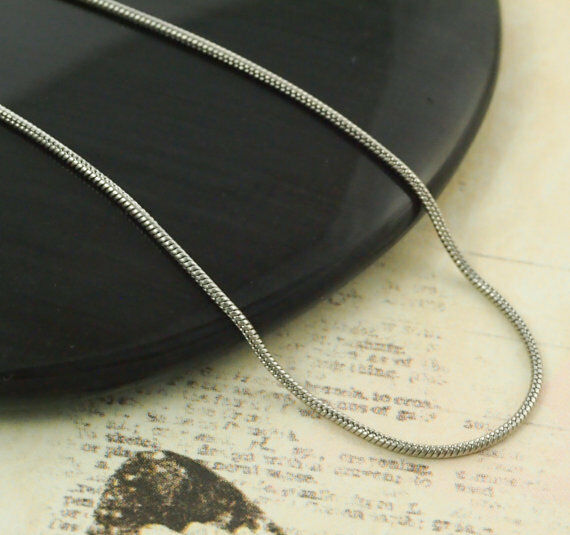 Stainless Steel Snake Chain, 16