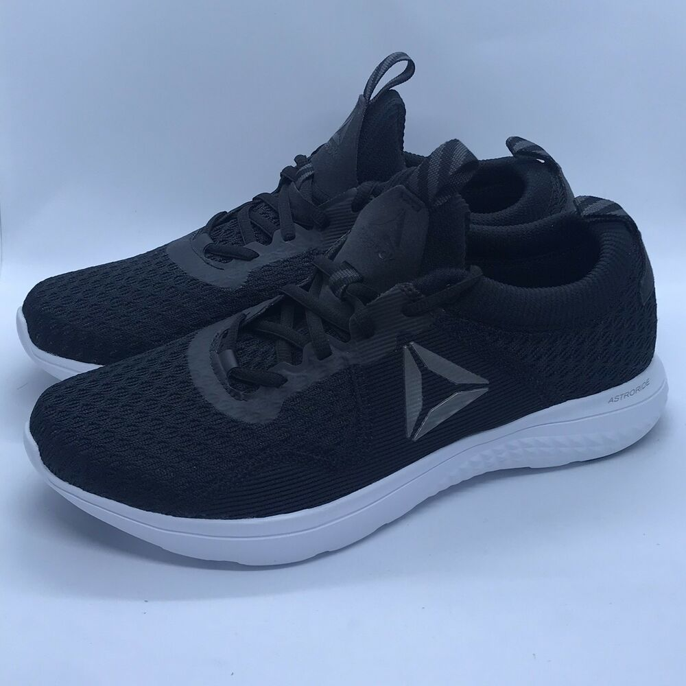 Details about New Reebok Mens Astroride Run Black Running Shoes Size 10 170b83228