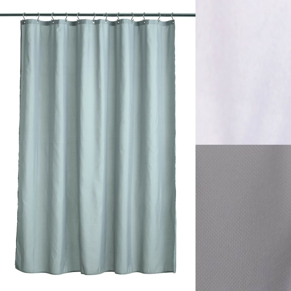 Details About 70 X 72 Soft Microfiber Shower Curtain Liners With Microban