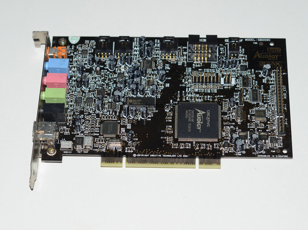 SOUND BLASTER AUDIGY MODEL SB0090 DRIVERS UPDATE