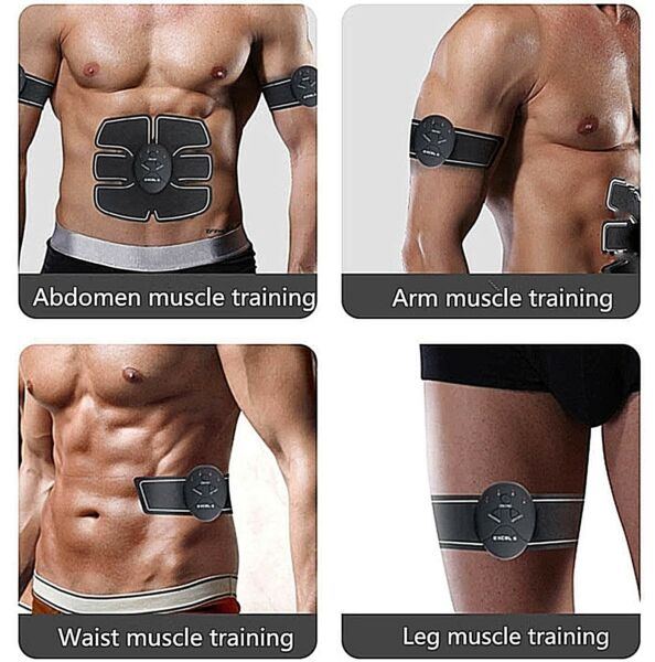 Smart Abs Stimulator Training Tool Fitness Gear Muscle EMS ✅ Stomach Arms Thighs