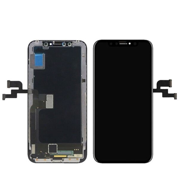 LCD DISPLAY FRAME PER APPLE IPHONE X TOUCH SCREEN VETRO SCHERMO