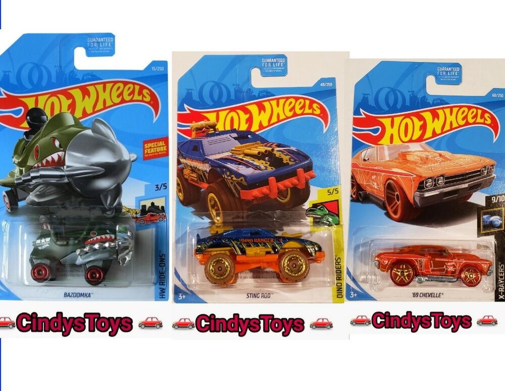 2019 HOT WHEELS REGULAR TREASURE HUNTS STING ROD BAZOOMKA