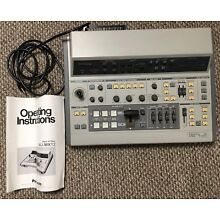 Panasonic WJ-MX12 Digital Video Switcher Audio Mixer w/ Operating Instructions