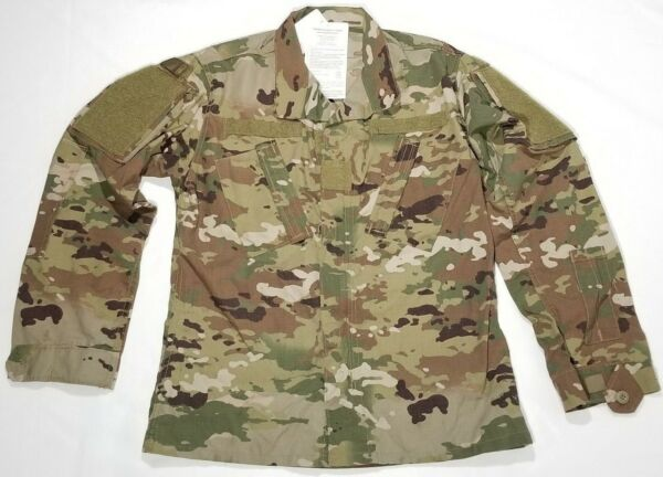 Scorpion OCP W2 Flame Resistant US Army Combat Coat/Top Insect Guard ACU BDU