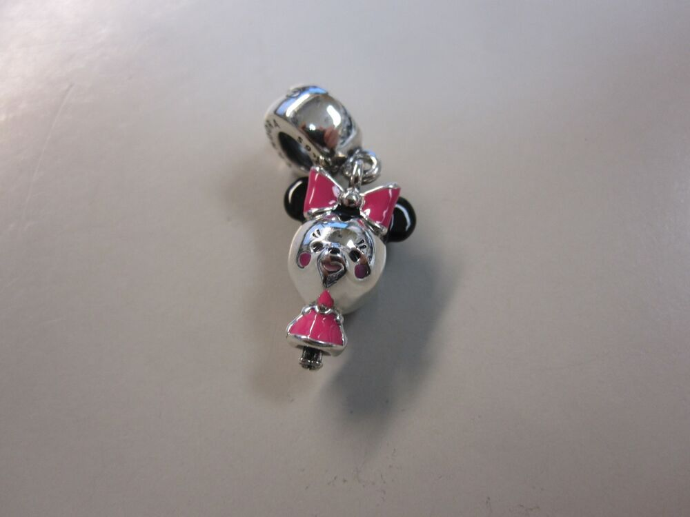 566ccc64b Details about PANDORA DISNEY PARKS EXCLUSIVE MINNIE CUTIE CHARM W/BOX-FREE  SHIP AND FREE GIFT