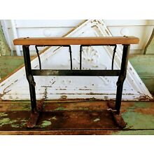 Antique General Store Butcher paper Dispenser Wood and Iron