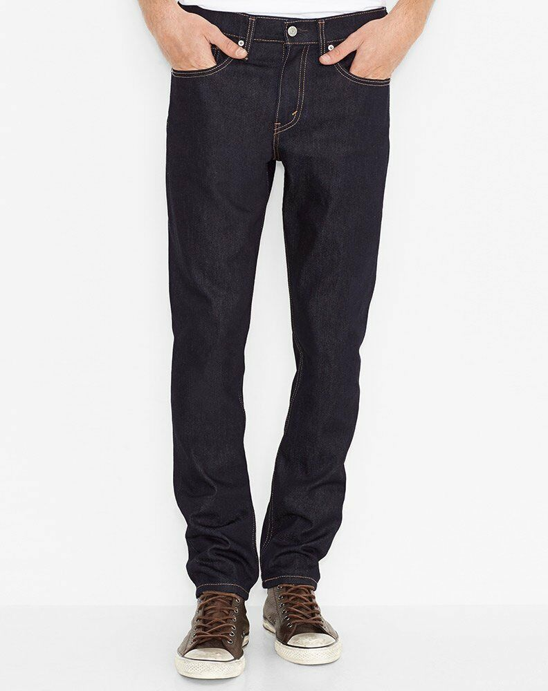 49f5b550527 Details about Levi s Men s 511 Slim Fit Jeans - Dark Hollow 04511-1042