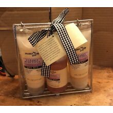 Trader Zen Clearly Beautiful Freesia Spa Kit New!