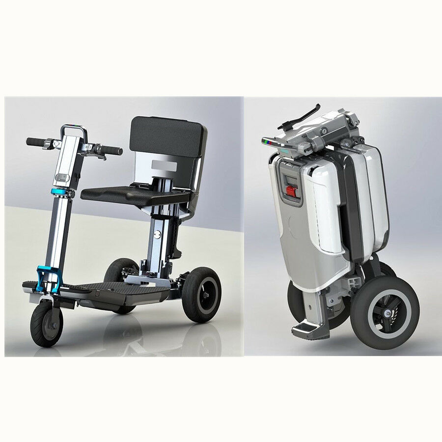 Details About 3 Wheel Electric Folding Mobility Scooter Compact Portable Sd Mode New