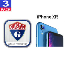 (3 Pack) GLASAVE Apple iPhone XR 6.1