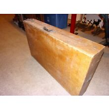 Antique Mortuary Funeral Wood Folding Embalming Table CHAMPION CHEMICAL