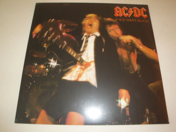 Ac/Dc : If You Want Blood You Got It Vinile LP