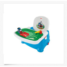 NIB Fisher-Price Childs THOMAS & FRIENDS TRAY PLAY BOOSTER SEAT Up to 50 lbs.