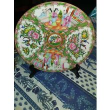 Antique China Chinese Famille Rose Medallion 9 1/2 Inch Plate Dish