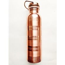 Copper Water Bottle For Ayurveda Health Benefits with carry handle USA Seller!!!