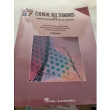 music book ESSENTIAL JAZZ STANDARDS Eb instruments & playalongCD
