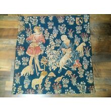 Medieval Style Tapestry Sheep