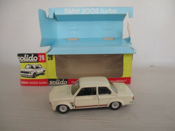 BMW 2000 TURBO N°28 SOLIDO SCALA 1:43