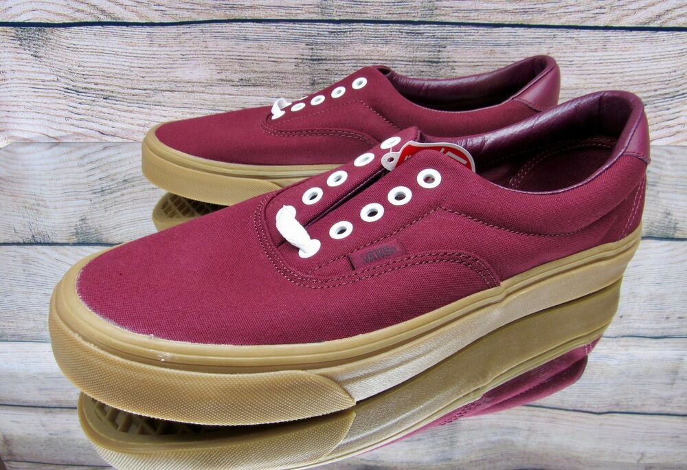 1dc77b94eed Details about Vans Era 59 (Canvas Gum) Port Royale VN0A38FSQV0 Skate Shoes  Men s Multi Size