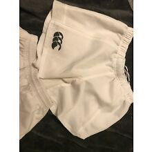 rugby shorts canterbury-white(size Small)