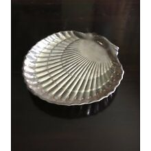 Vintage Gorham Sterling Silver Footed Clamshell Candy Tray 42677