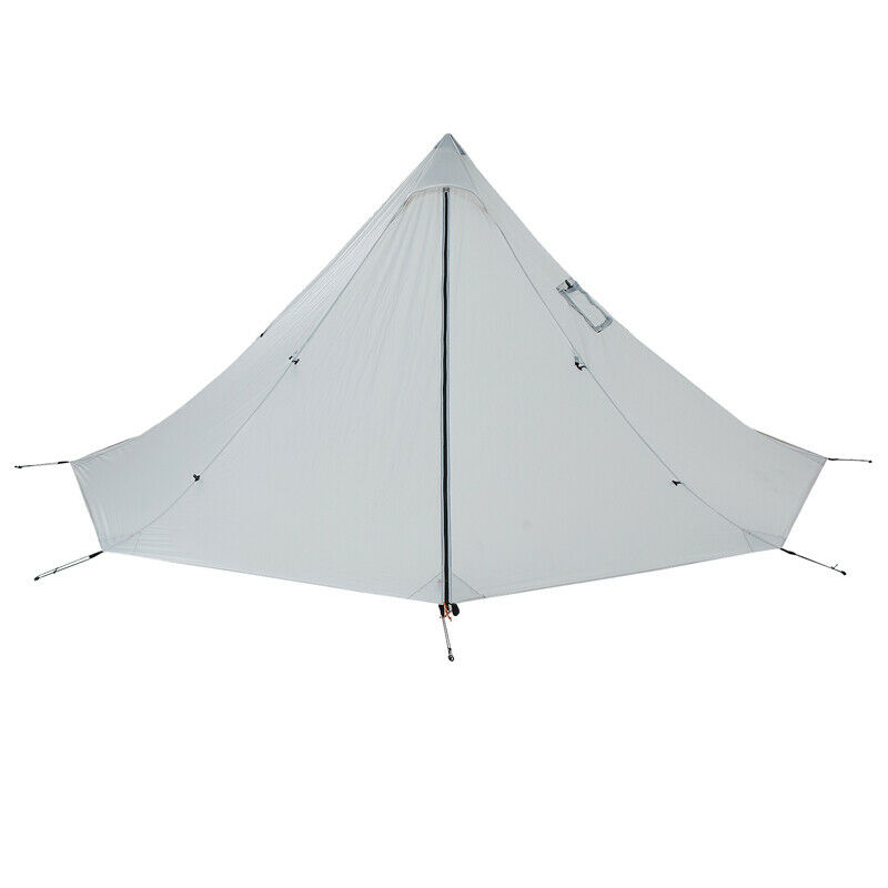Details about 2 Person Ultralight Chimney Teepee Tent Waterproof Shelter for C&ing Hiking  sc 1 st  eBay & 2 Person Ultralight Chimney Teepee Tent Waterproof Shelter for ...