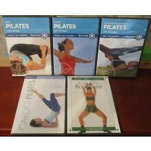 Pilates On 5 DVDs