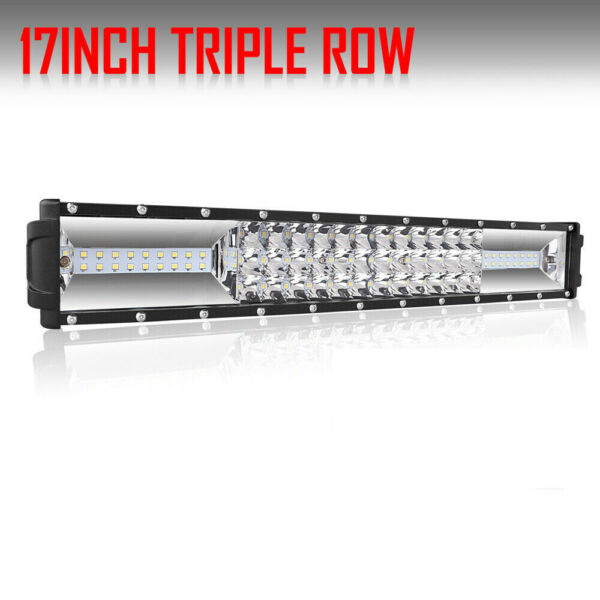 17inch 1848W Osram LED Light Bar Dual Color Offroad 16