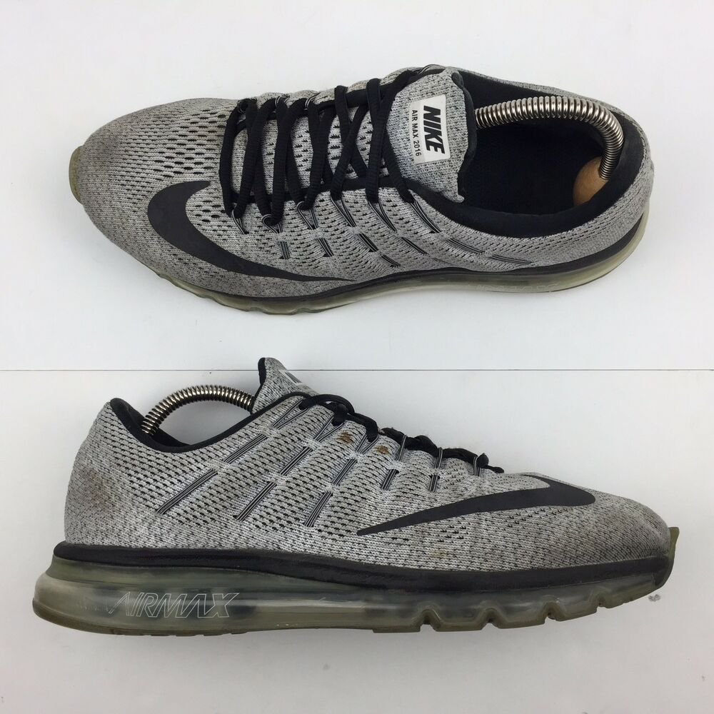 buy popular 67039 f1a73 Details about Nike Air Max 2016 Oreo Running Shoes Athletic Sneakers  806771-101 Men s Size 10