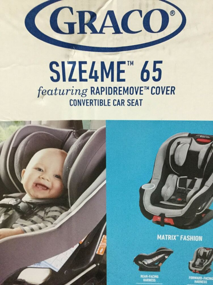 Details About Graco Baby Infant Size 4 Me 65 Convertible Forward Rear Facing Car Seat Matrix