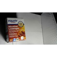 EQUATE NICOTINE LOZENGES, 2 MG, CINNAMON FLAVOR, 108 PIECES, 04/2019 and Later