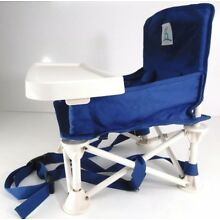 hiccapop Omniboost Travel Booster Seat w/ Tray for Baby ,Folding High Chair