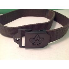Official Boy Scout belt and buckle