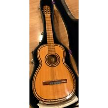 1960's Custom Made Short scale Classical guitar solid wood Paracho Amazing inlay