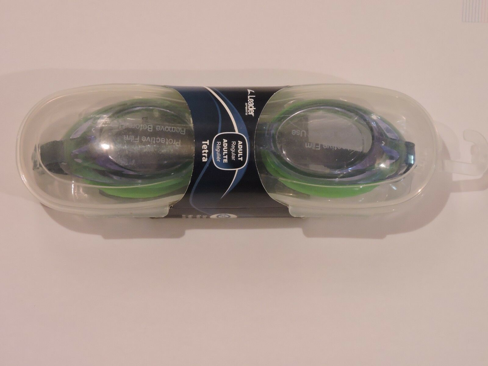 88b7705c280 ... UPC 051644927390 product image for Leader Tetra Adult Regular Swim  Goggles W  Case