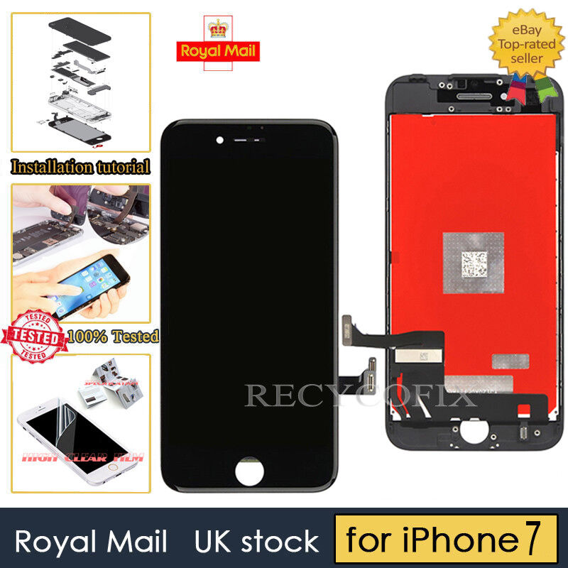 Details about Black Screen For iPhone 7 Replacement Digitizer LCD Touch Display  Assembly UK a88139c8e2