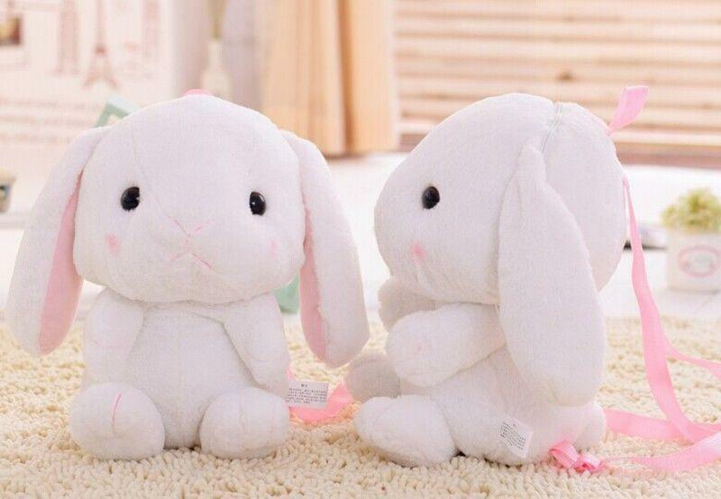 Details About Japan 21 School Backpack Lolita Bunny Rabbit Plush Bag Children Birthday Gifts