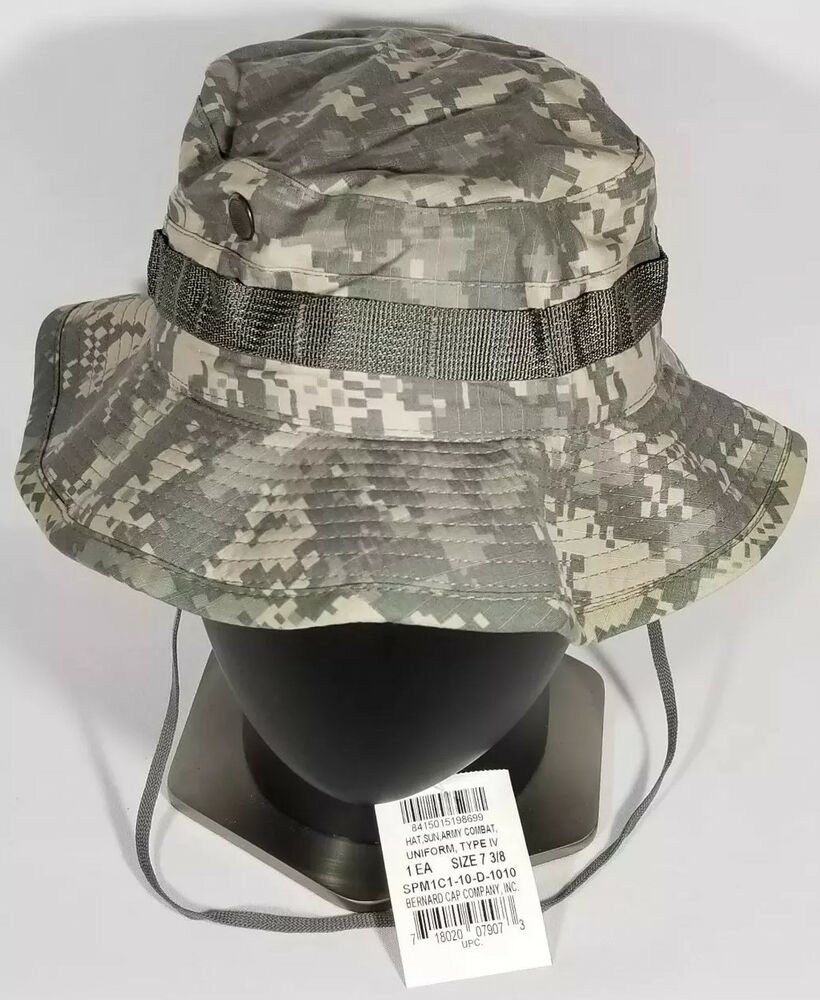 US GI ARMY Combat Uniform Digital UCP Tactical Boonie Cap Type IV Sun Hat 7  3 8 718020079073  e8c05b758be