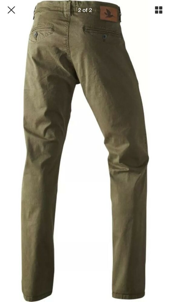 bf834100174 Seeland Callan Chinos Mens Size Xl Moss Green Trousers Hunting Shooting