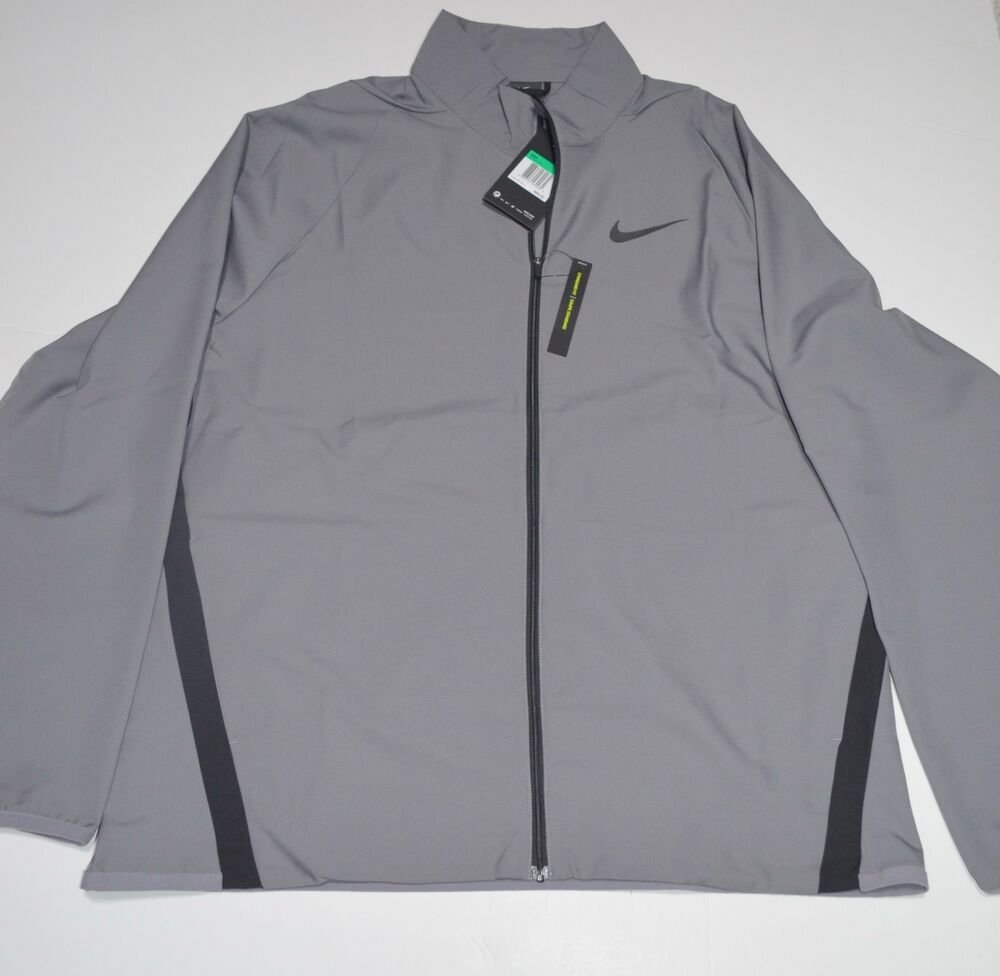 dc1a88e4aa Details about Nike Dri Fit Woven Training Men s Grey Jacket NEW MSRP  65