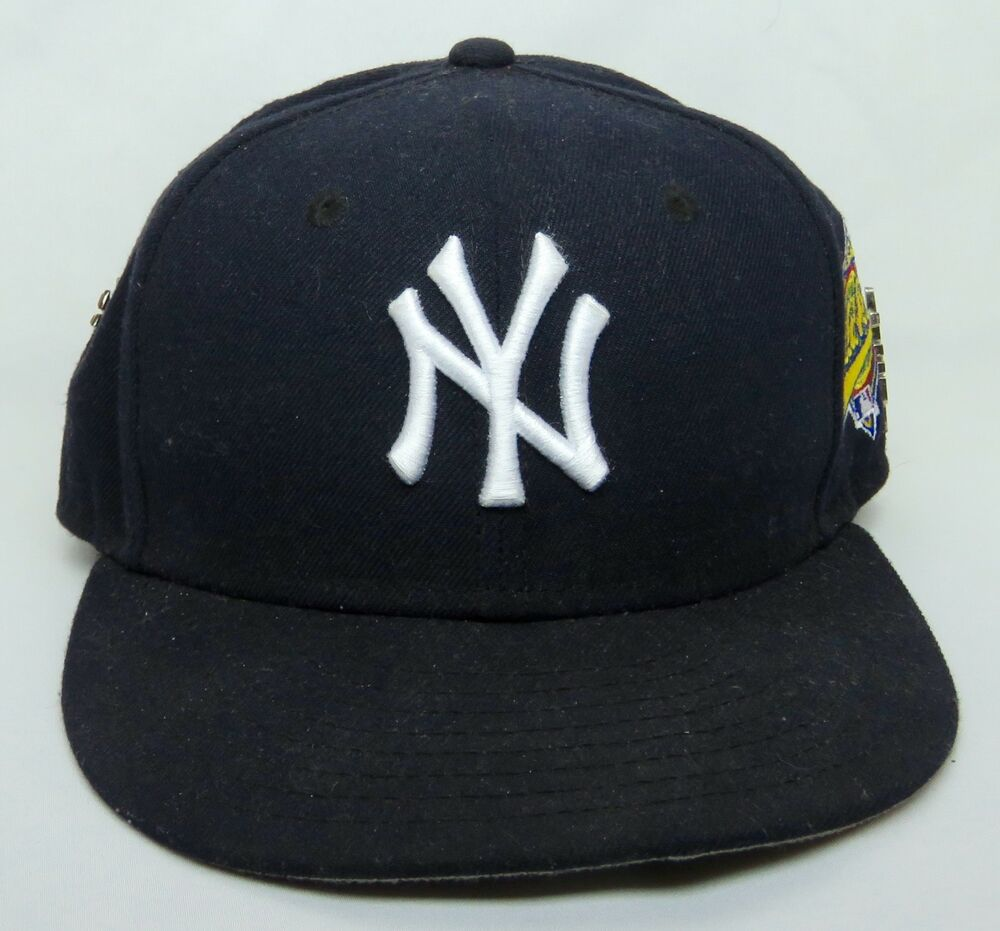 VINTAGE.NEW ERA 59FIFTY NEW YORK YANKEES 1996 WORLD SERIES FITTED ... edb78ec7954